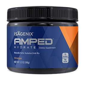 AMPED™ Hydrate Orange