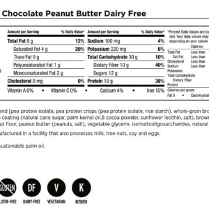 Bars Dairy-Free – Chocolate Peanut Butter