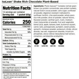 IsaLean Shake Dairy-Free Chocolate