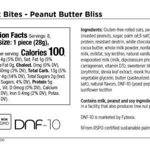 Snack Bites – Peanut Butter Bliss